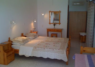 Clean and impeccable beds in the best studios in karpathos