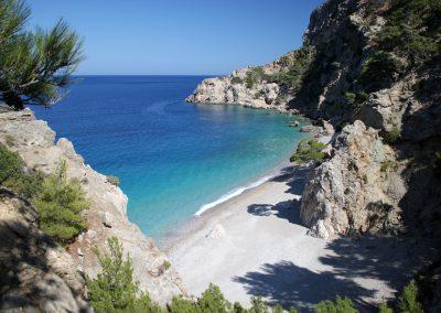 Beautifull beach near studios in karpathos